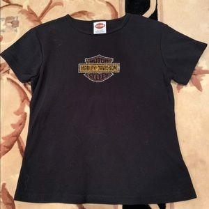 Vintage sparkly Harley Davidson shirt
